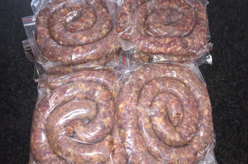 Guide to making the perfect Impala Venison Boerewors