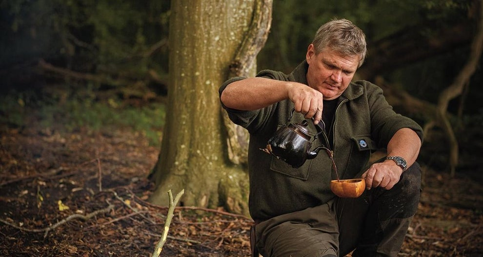 Bushcraft king Ray Mears has published a cookery book inspired by his son