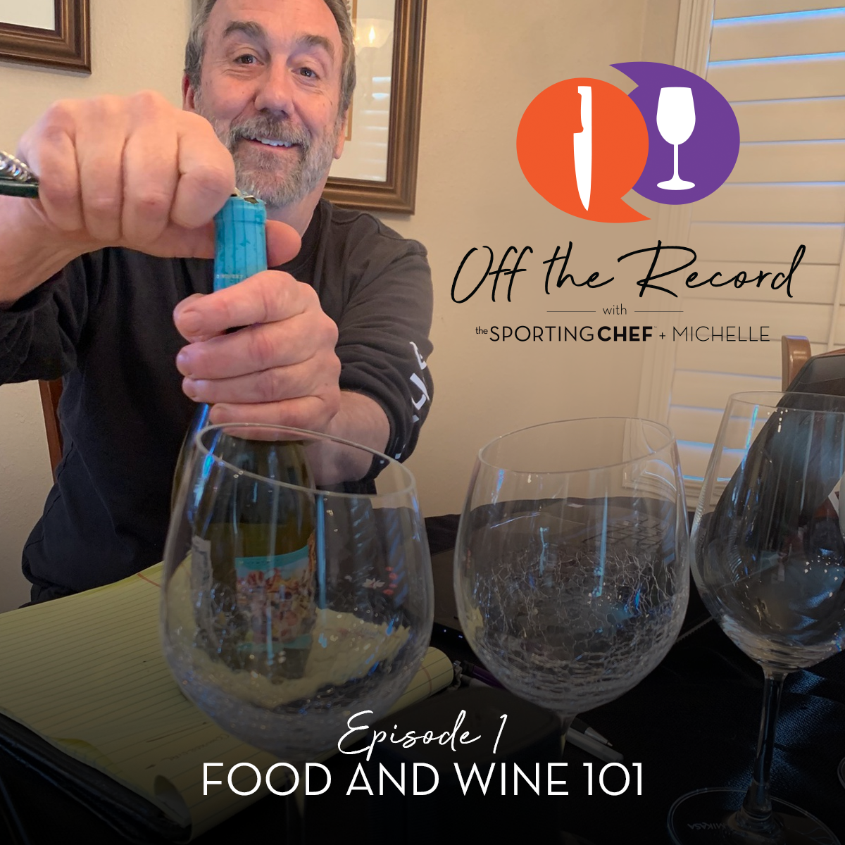 "Industry Insiders Host New Podcast ""Off the Record with Sporting Chef & Michelle"""