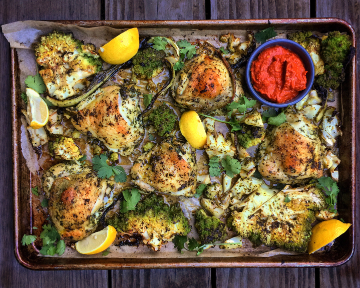 Cooking: A single sheet pan makes this Chermoula Chicken a breeze