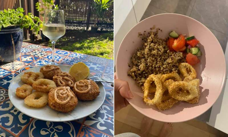 Home cooks are now making crispy calamari rings in $89 Kmart air fryer