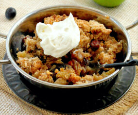Cooking: A fruit crisp for all seasons