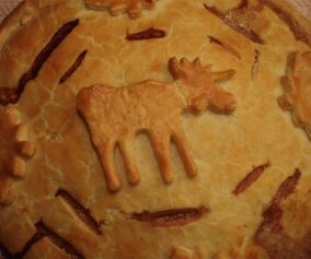 The Traditional Meat Pie Recipe Made with Moose Meat